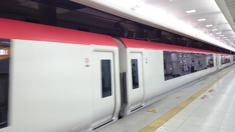 N'EX 使用的 JR 東日本 E259 系電聯車。
