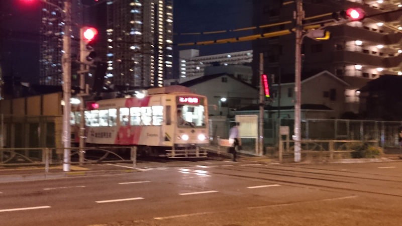 都電荒川線,目前東京都唯二的路面電車,飯店旁就有一站。但其實 JR 車站就在附近,還是雙腳萬能省點錢吧。